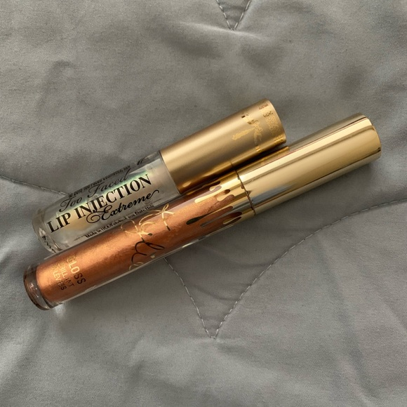 Kylie Cosmetics Other - Lipgloss Bundle - Kylie Cosmetics & Too Faced